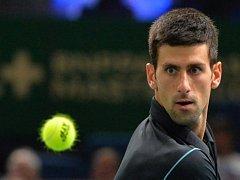 Novak Djokovič na Masters v Paříži.