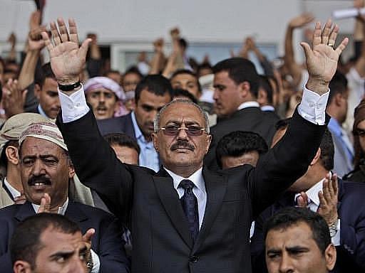 Jemenský prezident Alí Abdalláh Sálih (na snímku).