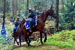 Na akcích připomínajících dávnou historii nemohou chybět ani koně