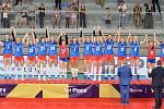 Nečekaná trumf. České volejbalistky ovládly v chorvatském Varaždínu Final four Evropské ligy.