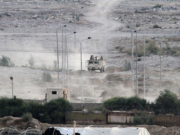Egyptská armáda na Sinaji