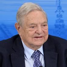 Miliardář a filantrop George Soros.