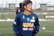 Japonský fotbalista Kazujoši Miura.