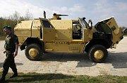 Dingo - Nový obrněný vůz pro misi českých vojáků v Afghánistánu