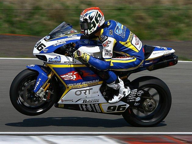 Jakub Smrž na Ducati si vyjel v kvalifikaci GP Nizozemska v Assenu vynikající druhé místo.