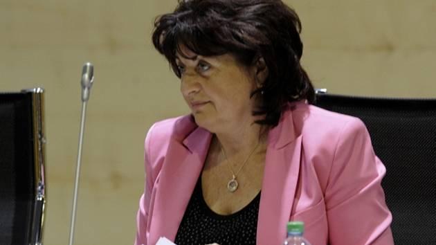 Náměstkyně hejtmana Jana Vaňhová (ČSSD).