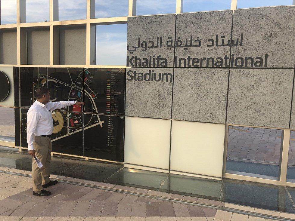Khalifa International Stadium.