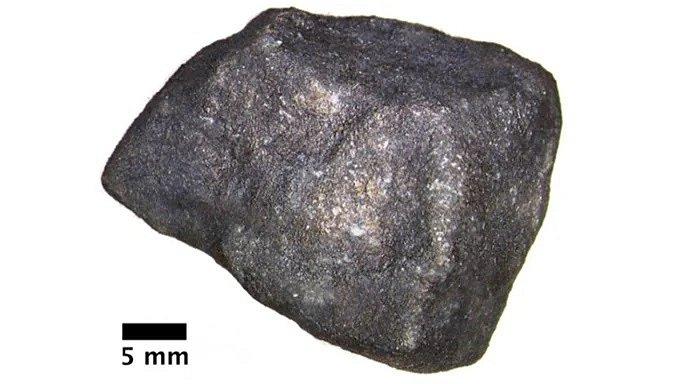 Meteorit nalezený na zamrzlém Michiganském jezeře