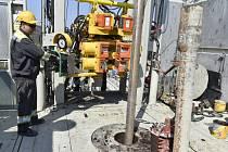 Moravské naftové doly, vrtná souprava