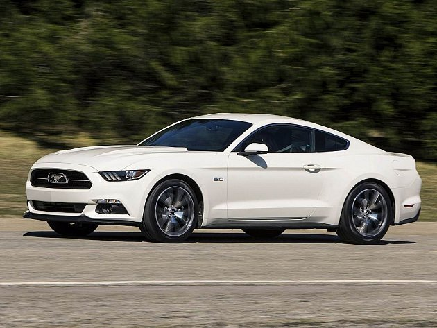 Ford Mustang 50 Year Limited Edition.