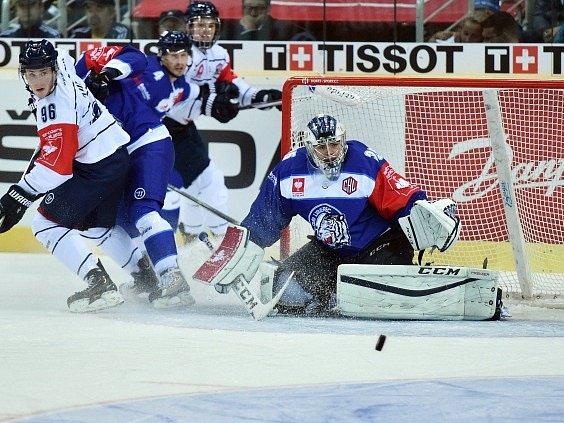 Úvodní utkání osmifinále play off Ligy mistrů: Liberec - Vítkovice