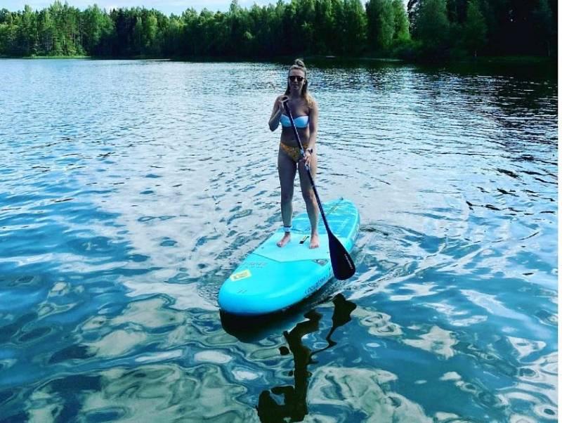 Fotit se na paddleboardu je po celém světě populární