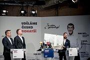 Premiér Andrej Babiš zahájil 3. září v Praze komunální a senátní kampaň pro říjnové volby. Dalšími hosty byli lídr kandidátky v Praze Petr Stuchlík, lídr a primátor Brna Petr Vokřál a lídr a primátor Ostravy Tomáš Macura.