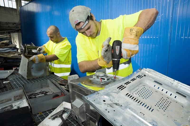 Recyklace vysloužilých elektrospotřebičů