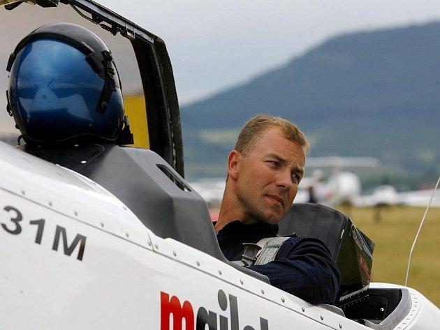 Armádní pilot Martin Šonka