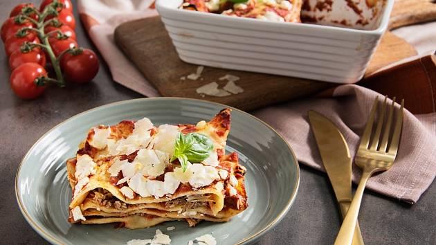 Zapečené lasagne