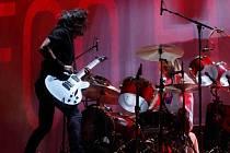 Americká kapela Foo Fighters vystoupila 15. srpna v pražské O2 Areně.