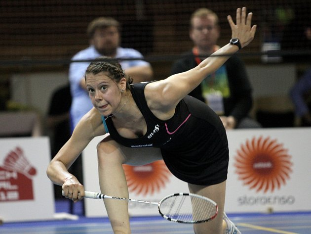 Badmintonistka Kristína Gavnholtová.