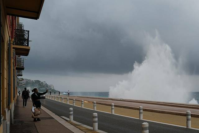 Jižní Francii zasáhla bouře Alex. Způsobila záplavy.