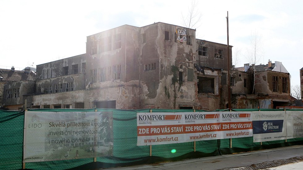 Brno 6.3.2019 - ulice Spolková v Brně