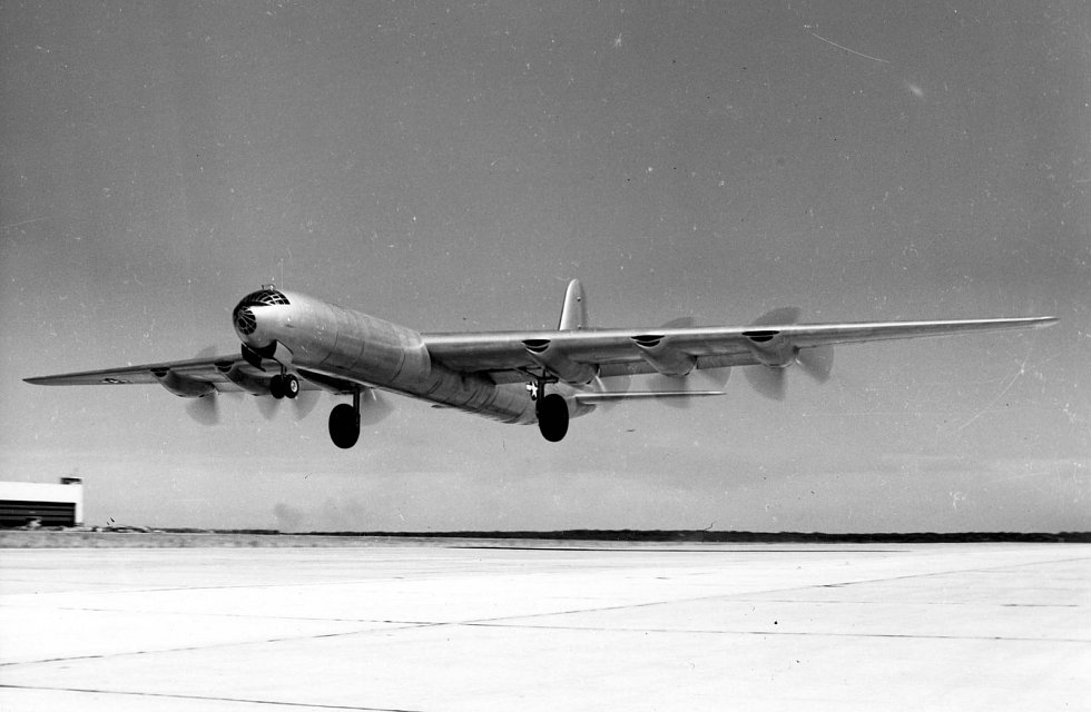 7. Convair B-36J Peacemaker.