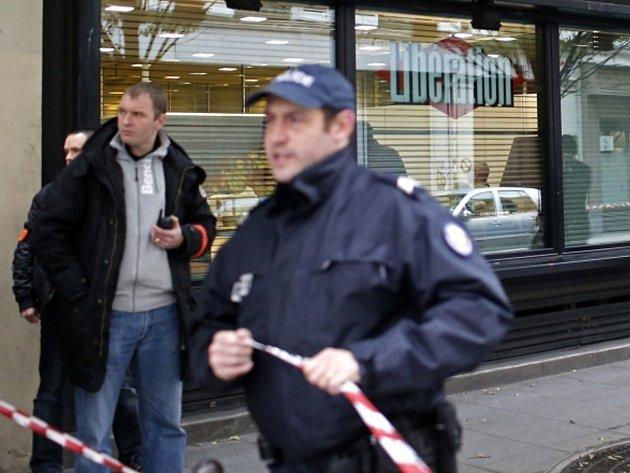 Střelba v redakci pařížského deníku Liberation.