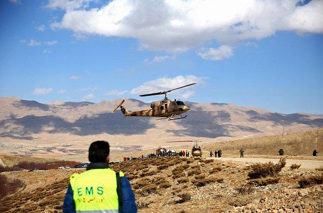 V Iránu se zřítilo letadlo. Ilustrační foto.
