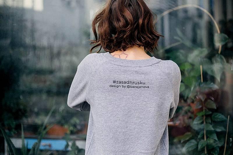 Výtěžek z módní kolekce Bářiných triček a mikin jde na výsadbu stromů.