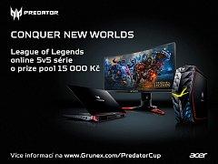 Turnaj Predator League Of Legends Cup.
