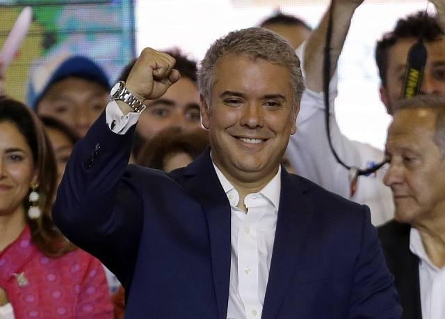 Nový prezident Kolumbie Iván Duque