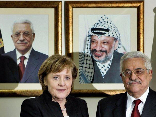 Angela Merkelová na návštěvě v Jeruzalémě v roce 2007.