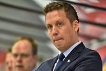 Trenér hokejistů Finska Lauri Marjamäki.
