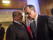 Sněm TOP 09, na kterém byl novým předsedou zvolen Miroslav Kalousek, pokračoval 29. listopadu v Praze.