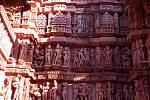 Vyobrazení scén z Kámasútry.