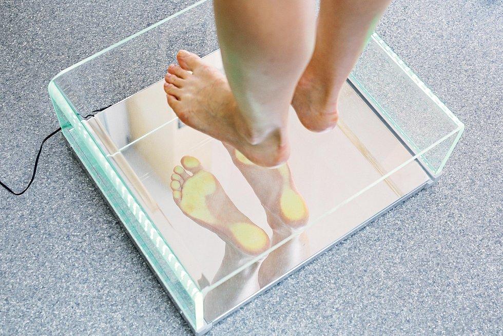 V dnešní době není problém nechat si odborně vyšetřit chodidla i chůzi.