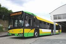 Nový prototyp trolejbusu Škoda brázdí ulice Plzně