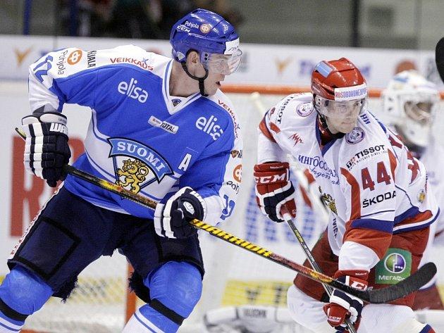 Zápas Rusko - Finsko (ilustrační foto)