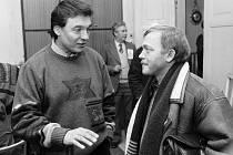 """DUET. """"Kryla jsem našel v čilé debatě s Gottem, už si domlouvali tóninu,"""" říká Jiří Černý"""