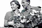Dana a Emil Zátopkovi si z olympijských her v Helsinkách odvezli celkem čtyři zlaté medaile.