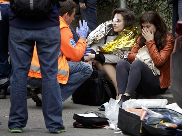 Výbuch plynu v centru Prahy zranil 29. dubna několik lidí.