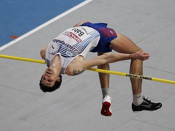 Jaroslav Bába vybojoval na halovém ME v Paříži stříbrnou medaili.