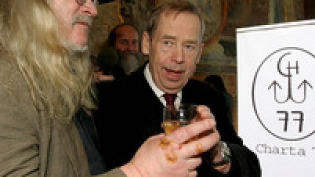 Havel a Jirous - dvě jména do slovníku disidentů.
