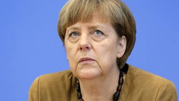 Německá kancléřka Angela Merkelová. Rok 2014