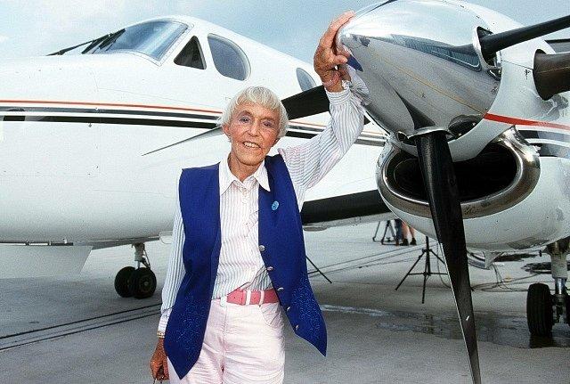 Beate Uhse milovala létání.