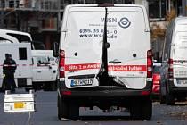 Lupiči v centru Berlína přepadli transport s penězi