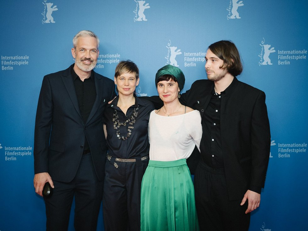 Henning Kober, Nina Schwabe, Eliza Petkova a Konstantin Kann na festivalu Berlinale