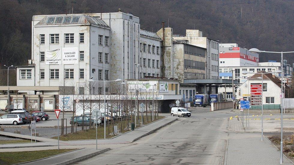 Město Adamov v okrese Blansko