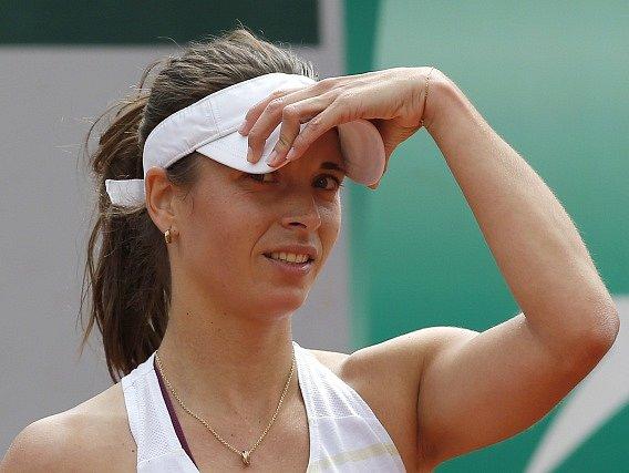 Petra Cetkovská se s French Open rozloučila už v prvním kole