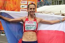 Úspěch české chodkyně Anežky Drahotové