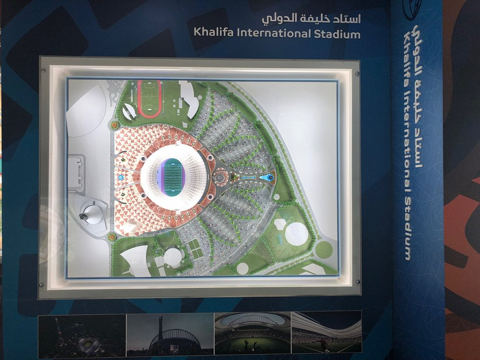 Khalifa International Stadium.